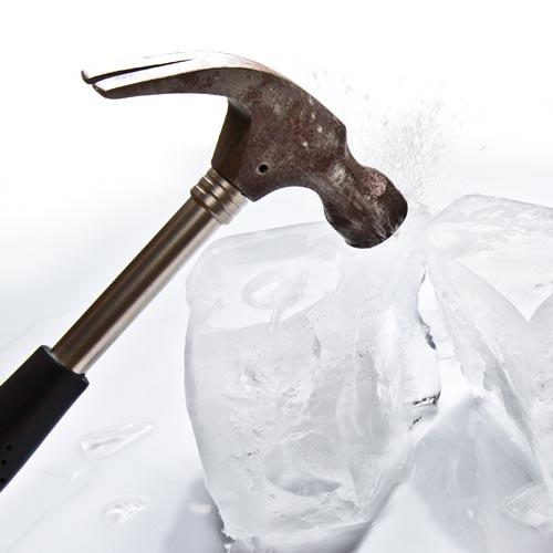 romper hielo